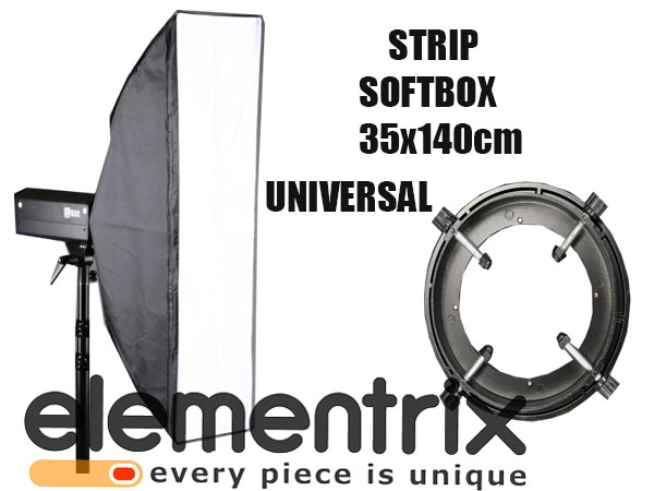 Strip Softbox obrotowy 35x140 cm