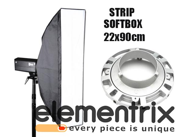 Strip Softbox obrotowy 22x90 cm BOWENS
