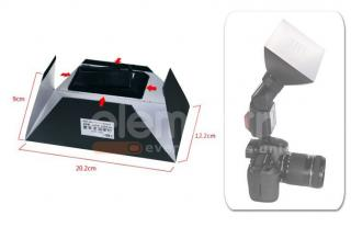 Dyfuzor SOFTBOX 122 x 202 mm